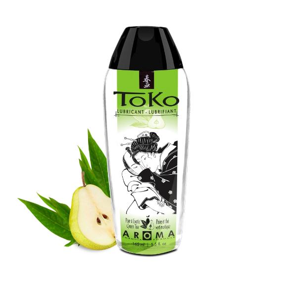 Lubrifiant Eau Toko Poire thé Vert Exotique