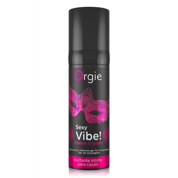 A- Orgie Gel Excitation Sexy Vibe INTENSE orgasm Liquid Vibrator
