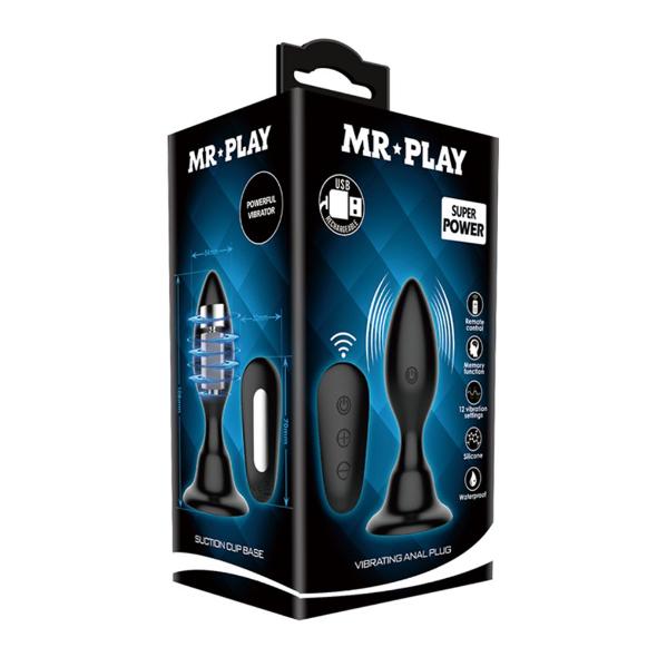 Mr Play Vibrating Anal Plug