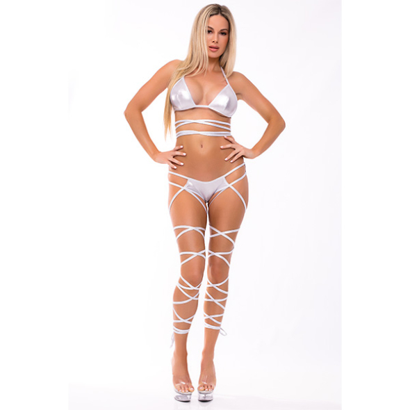 A-Lace up Lover silver