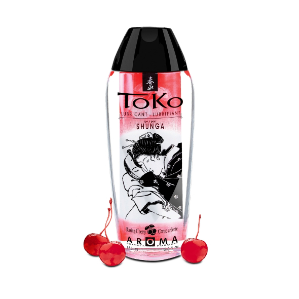Lubrifiant eau Toko  Cerise ardente