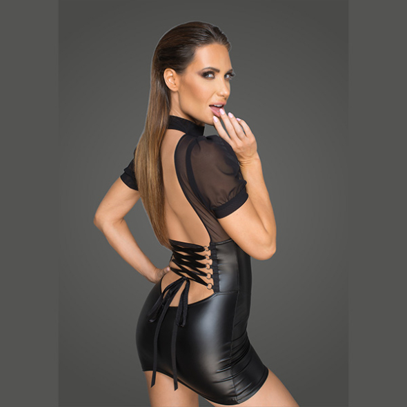 A - Minidress with tulle F204