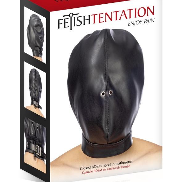 Fetish Tentation Cagoule Fermée BDSM
