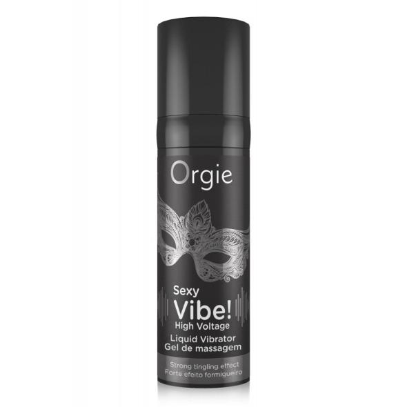 A- Orgie Sexy Vibe High Voltage Gel Vibrator