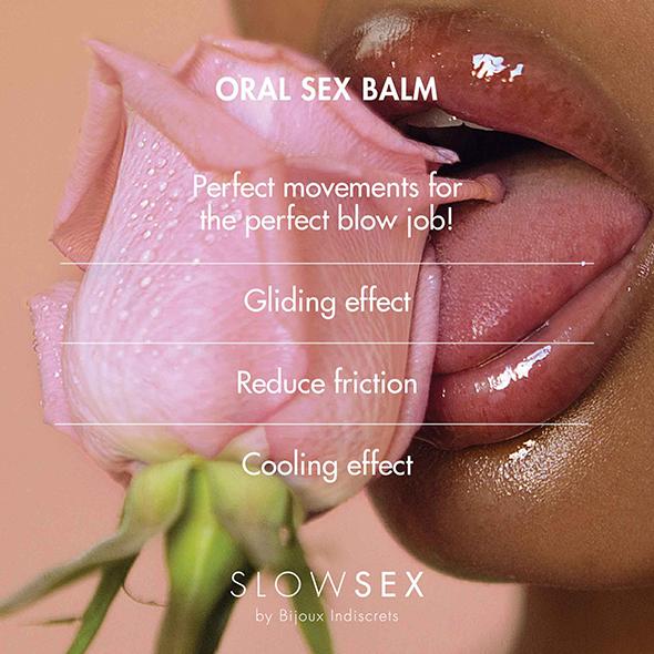Slow Sex Oral Sex Balm