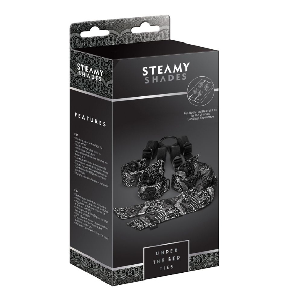 Steamy Shades Kit d'Attaches de Lit