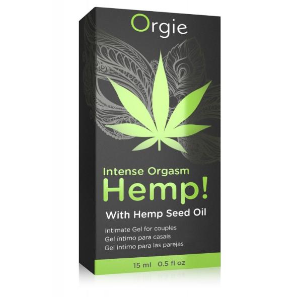 A- Orgie Hemp intense orgasm gel excitation Cannabis