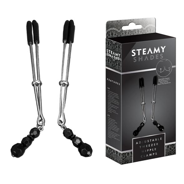 Steamy Shades Pinces Tétons ajustables