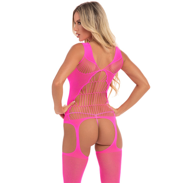 Bodystocking Flight Hot Pink