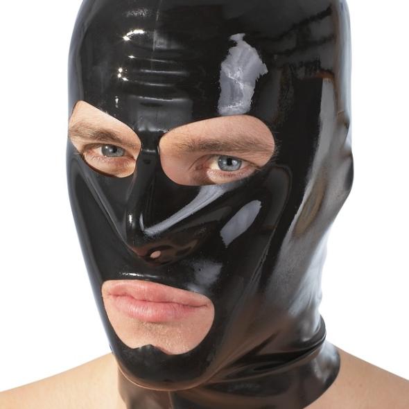 Masque Latex noir