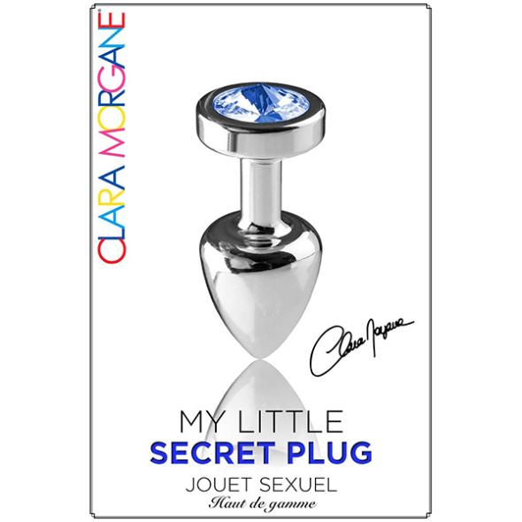 My Little Secret Plug médium bijou bleu
