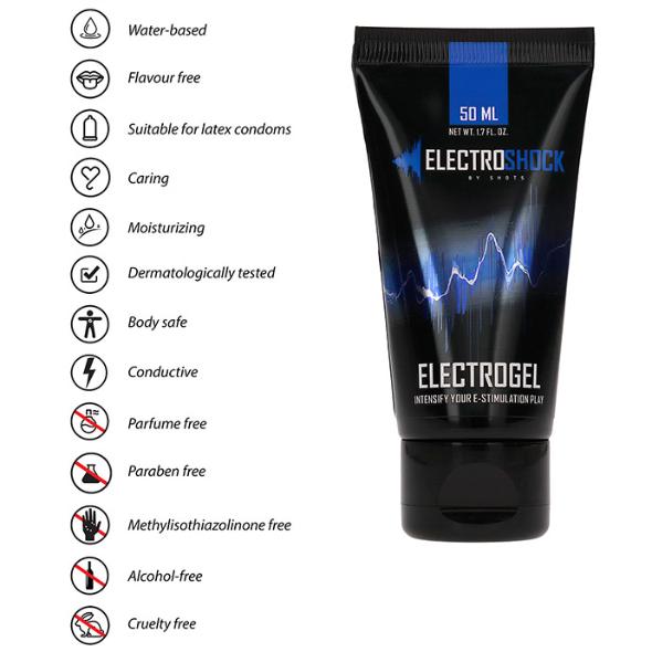 Gel Conducteur pour Electrostimulation Electrogel
