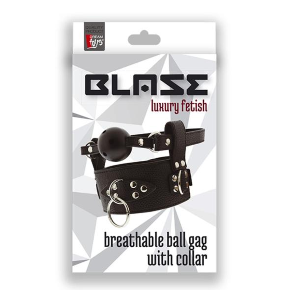 A Blaze Collar Ball Gag